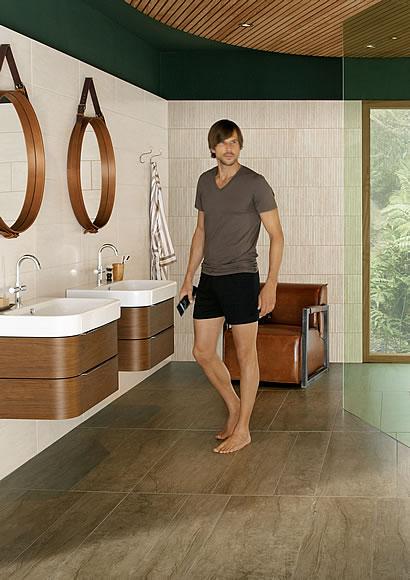 fliesen in holz und steinoptik. Black Bedroom Furniture Sets. Home Design Ideas