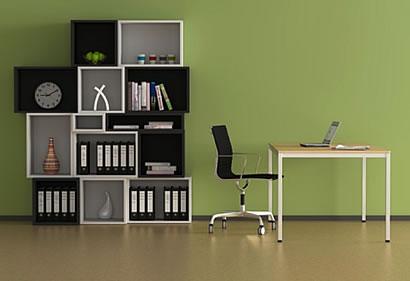arbeitszimmer einrichtung mit stil. Black Bedroom Furniture Sets. Home Design Ideas