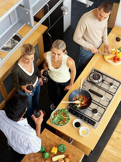 Neue Kuche Neuer Herd Kochen Mit Gas Bauen Com