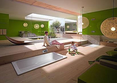 Wie Man Ein Badezimmer Im 21. Jahrhundert Renoviert. Foto: Dtx / Kaldewei