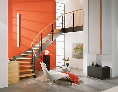 Zeitgemäßes Design Der Treppe