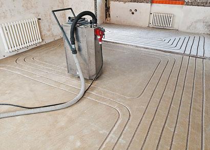 Bekannt Mit neuer Frästechnik zur Fußbodenheizung - bauen.com RW59
