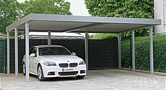 Foto: Epr / Capotec. Carport/Garage