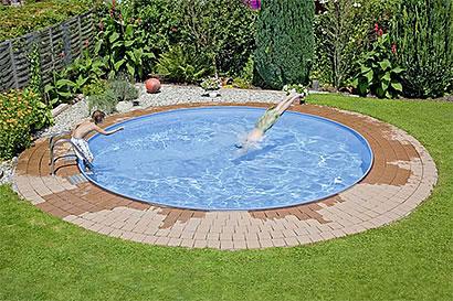 pool mit umweltwärme heizen - pool/spa - garten und außenanlagen, Gartenarbeit ideen