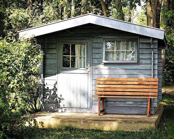 Gartenhaus Renovieren renovierung des gartenhauses