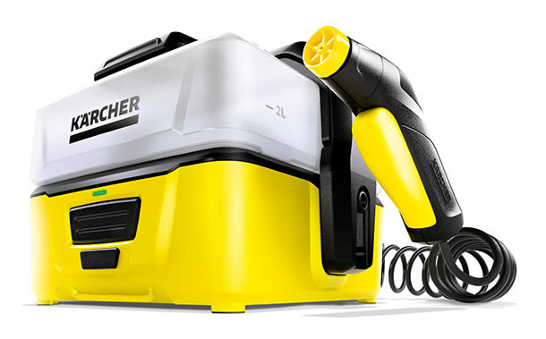 Der neue Mobile Outdoor Cleaner von Kärcher. Bildquelle: Kärcher