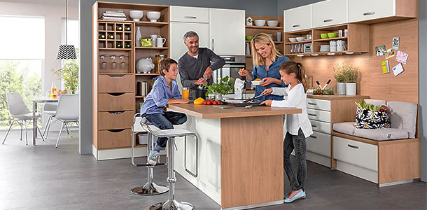 Rezept für die perfekte Küche - bauen.com