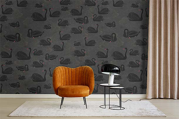 Kollektion CYGNE NOIR von Rebell Walls