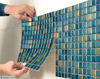 Kleine Quadrate Mit Großer Wirkung Bauencom - Kleine fliesen verlegen