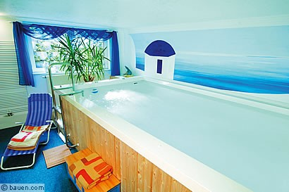 365 tage schwimmspa. Black Bedroom Furniture Sets. Home Design Ideas