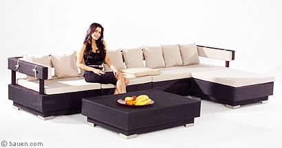 exklusive loungem bel. Black Bedroom Furniture Sets. Home Design Ideas