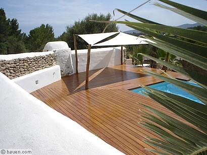 die bambus terrasse. Black Bedroom Furniture Sets. Home Design Ideas