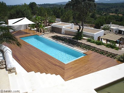 Die Bambus Terrasse Bauen Com