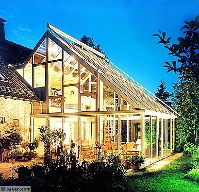 doppelt sch n zweigeschossig wintergarten hausbau. Black Bedroom Furniture Sets. Home Design Ideas