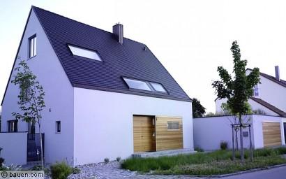 Siedlungshaus Modernisieren bauen mit wärmedämmziegeln - bauen