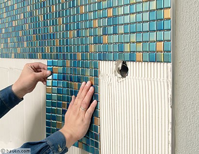 Mosaik für draußen