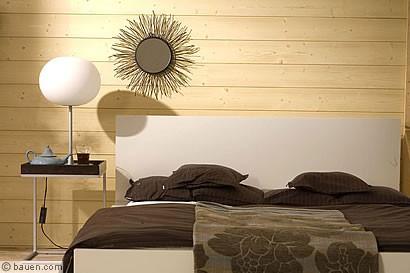 lebendige holzverkleidung. Black Bedroom Furniture Sets. Home Design Ideas