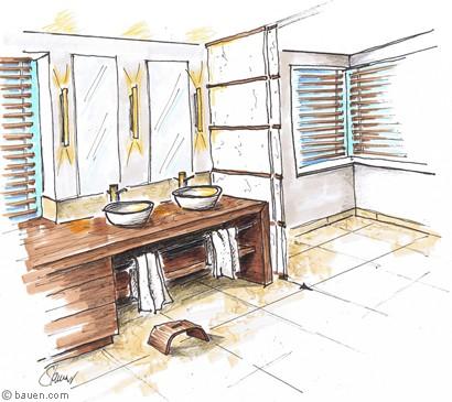 im familienbad den fr hling ausrufen. Black Bedroom Furniture Sets. Home Design Ideas