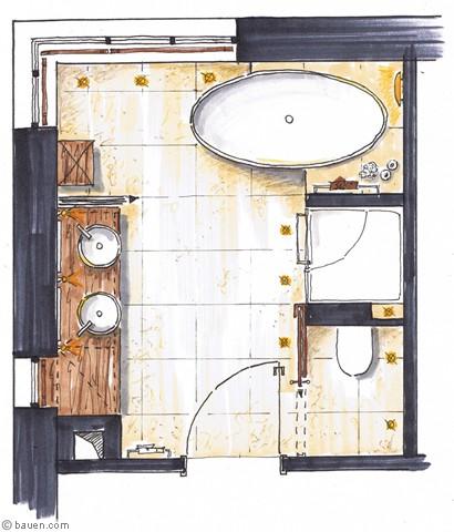 Badezimmer 10 Qm U2013 Menerima, Badezimmer Ideen