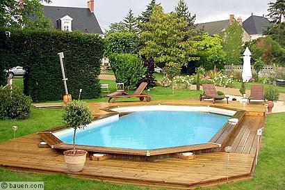 Urlaub am eigenen Pool - bauen.com