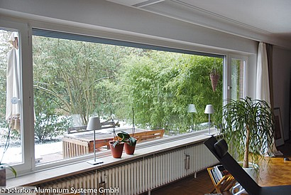 Fenster Wohnzimmer. Stunning New Kirschbaum D Bestickt Fenster ...
