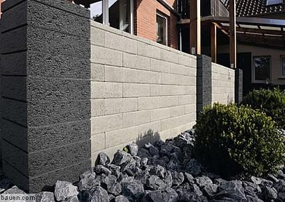 gartenmauern mit ausstrahlung. Black Bedroom Furniture Sets. Home Design Ideas