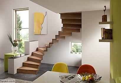 treppe in faltwerk optik. Black Bedroom Furniture Sets. Home Design Ideas