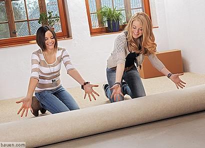 teppich clever kleben. Black Bedroom Furniture Sets. Home Design Ideas