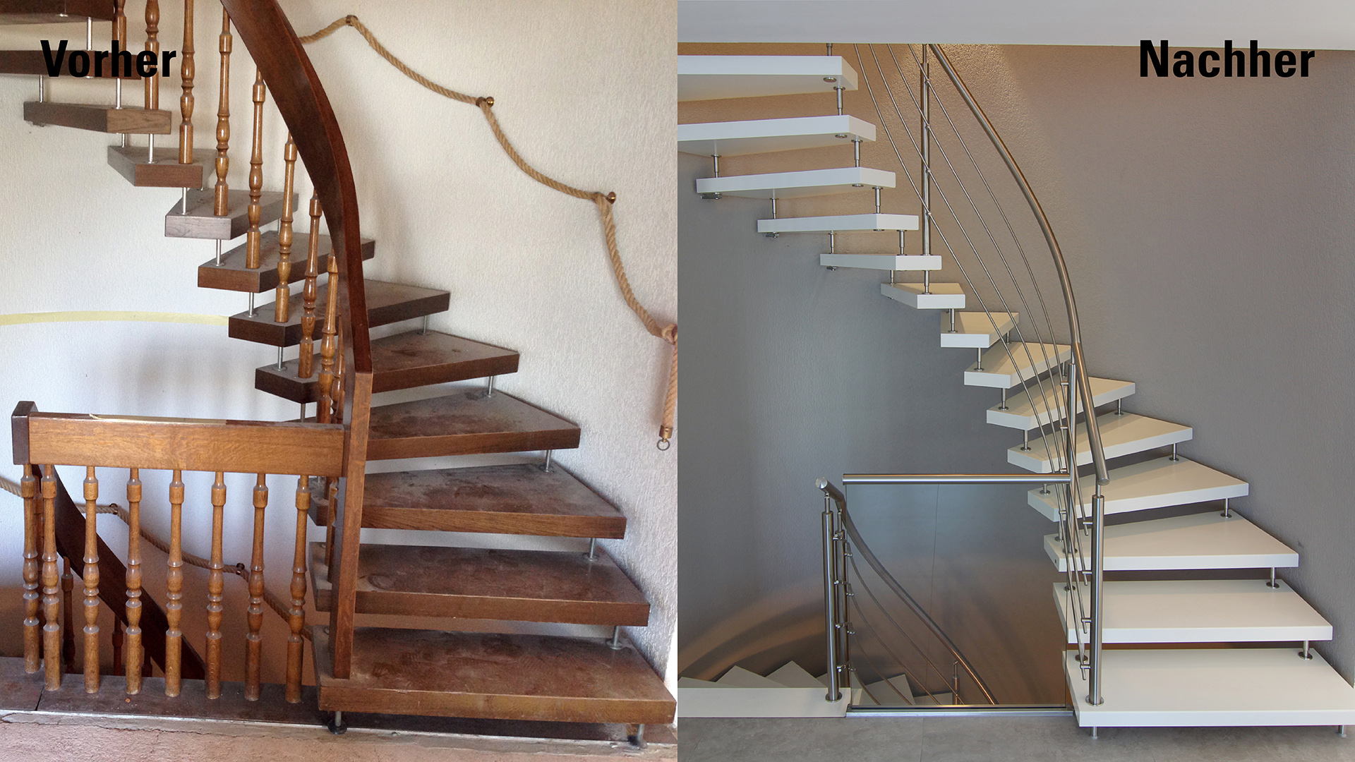 offene treppen renovierung wohn design. Black Bedroom Furniture Sets. Home Design Ideas