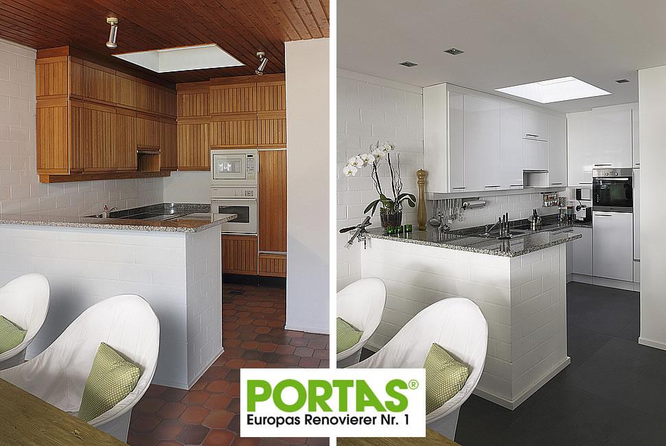 PORTAS Küchenrenovierung - bauen.com - Spezial