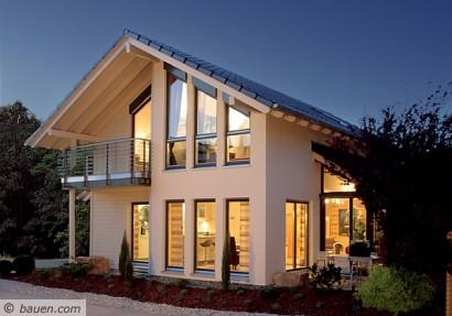 Modernes ambiente und wohnkomfort for Modernes haus bauen