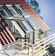 Balkon Im Dachgeschoss Bauen : ... Balkon wird das Dachgeschoss zur attraktiven Wohneinheit. - Foto