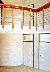 Kompakthaus mit Treppenrondell. Foto: 3L-Plan