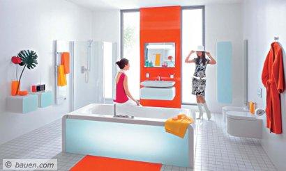 Jung und frech á la Pop-Art gehört zu den beliebten Stilwelten, die Designer derzeit kreieren. Foto: Ideal Standard