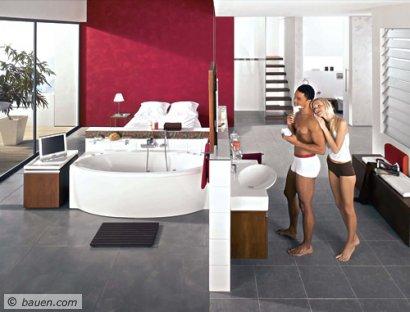 Traumhaftes Bad - Bad, Badezimmer, Dusche Und Whirlpool - Ausbau ... Badezimmer Mit Whirlpool