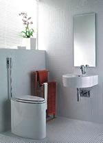 Schön Schön, sparsam und leise - Neue WC-Spüler vor der Wand - Bad  VV22