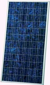 Solarmodul mit Antireflexionsbeschichtung: Knappe 1,3 Quadratmeter kommen laut Hersteller auf 165 Watt Spitzenleistung. Foto: Sharp