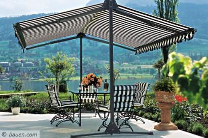 Sonnenschutz Garten garten und terrasse sommerfrisch