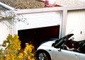 Deckenlauftor mit Solarmodul für Garagen ohne Strom