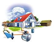 Mit dem hagebau Wertwasser System sparen Sie gleich doppelt: kommunale Gebühren und wertvolles Regenwasser - Foto: Galabau