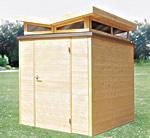 Extravagant: Milano ist auch mit V-förmigem Dach erhältlich - Foto: products4home