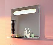 Ideal Standard Lifestyle-Welten - Moments Mirror - Dieser wurde auf der ISH 2005 mit dem Design plus Award ausgezeichnet - Foto: Ideal Standard