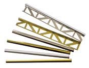 Besonders edel: Aus eloxiertem Alu gefertigte Deko-Profile gibt es in glänzend und matt, Silber und Gold - Bild: Duralis