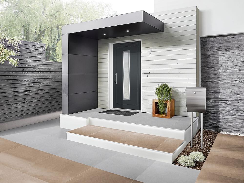 die pers nliche note f r den eingang s1 eingangs berdachungen von siebau. Black Bedroom Furniture Sets. Home Design Ideas