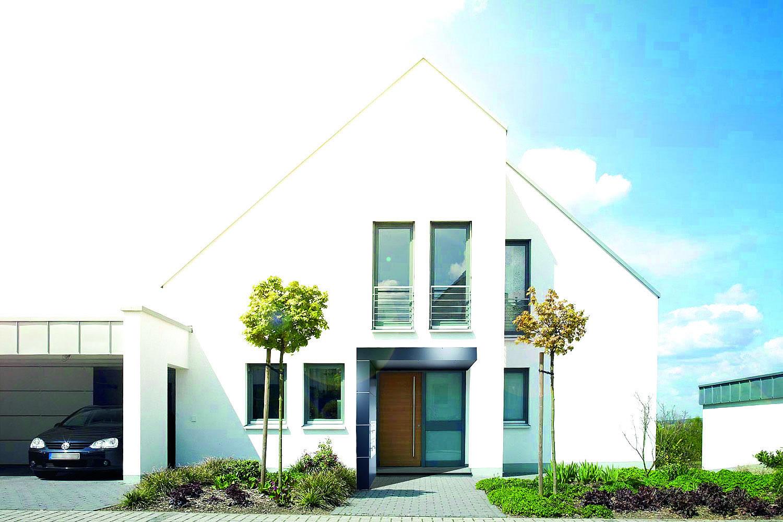 Fabelhaft Eingangsüberdachung L Form Dekoration Von Foto: Siebau Raumsysteme
