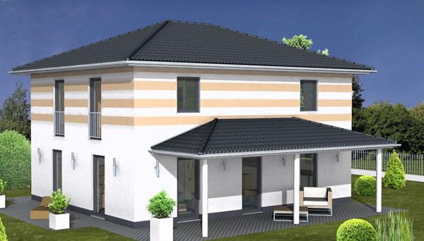einfamilienhaus bs 138 von b s selbstbausysteme gmbh co kg. Black Bedroom Furniture Sets. Home Design Ideas