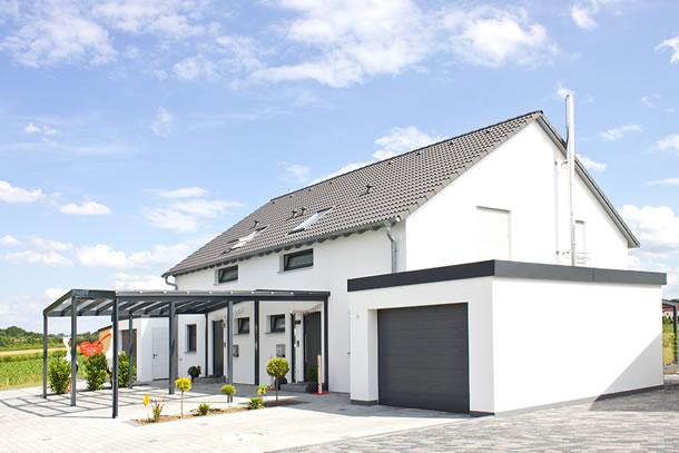 Homestory 343 von lehner haus gmbh for Haus bauen muster