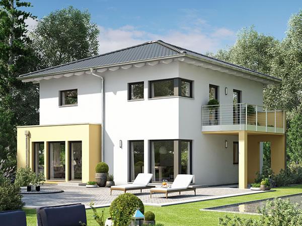 solution 151 v9 von living fertighaus gmbh. Black Bedroom Furniture Sets. Home Design Ideas