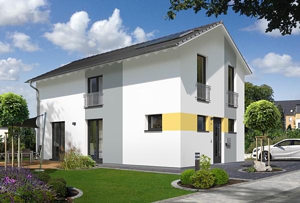 stadthaus aura 125 von town country haus lizenzgeber gmbh. Black Bedroom Furniture Sets. Home Design Ideas