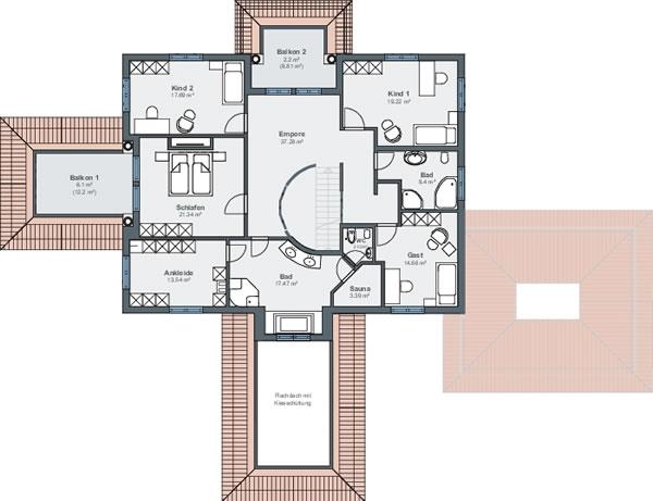 villa ah rheinau linx von weberhaus gmbh co kg. Black Bedroom Furniture Sets. Home Design Ideas